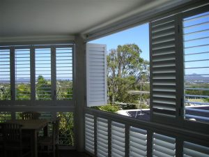 aluminium shutters on sunshine coast
